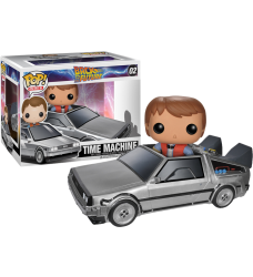 BTTF - Delorean Car with Marty McFly Pop! Ride