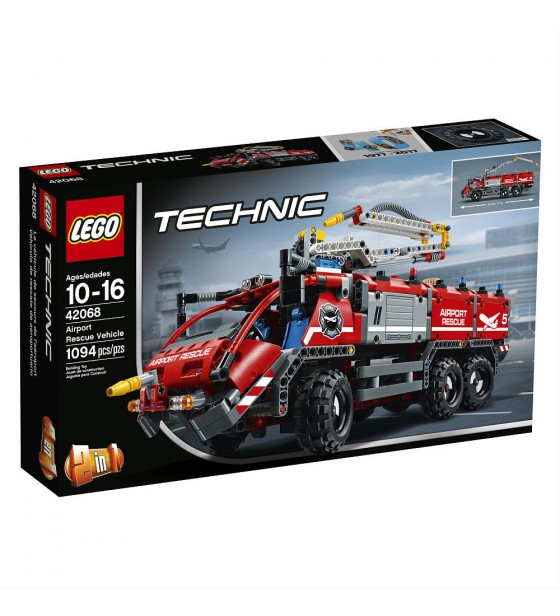 Brand: LEGO | Category: Bricks and Building Sets | Theme: Technic | Set 42068 Airport Rescue Vehicle