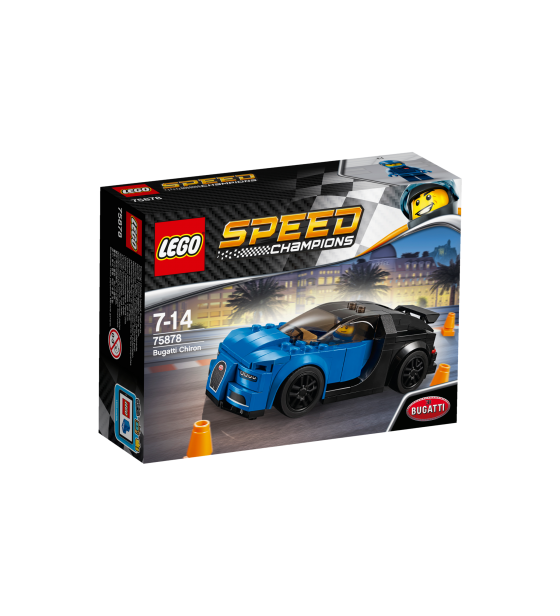 Brand: LEGO | Category: Bricks and Building Sets | Theme: Speed Champions | Set 75878 Bugatti Chiron