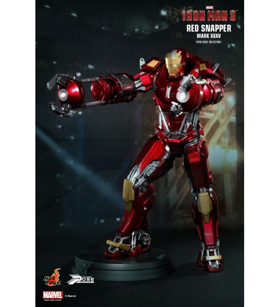 """Iron Man 3 - Mark 35 Red Snapper 12"""" Figure"""