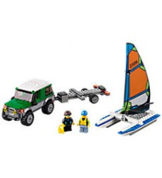 LEGO 60149 4x4 with Catamaran (LEGO City)