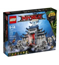 LEGO 70617 Temple of The Ultimate Ultimate Weapon (LEGO Ninjago)