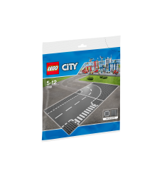 LEGO City 7281 T-junction & Curve