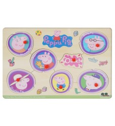 Peppa Pig - Family Pin Puzzle