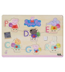 Peppa Pig - Letters Pin Puzzle