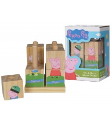 Peppa Pig - Wooden Stacker