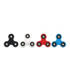 Fijit Spinnerz (Set of 4) Fidget Spinners (Black, White, Red & Blue)
