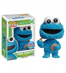 Sesame Street - Cookie Monster Flocked Pop! NYCC15
