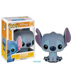 Lilo & Stitch - Stitch Seated Flocked Pop! Vinyl