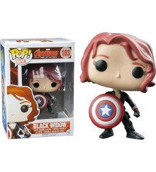 Avengers 2 - Black Widow w/ Shield Pop! Vinyl