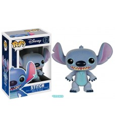 Lilo & Stitch - Stitch Flocked Pop! Vinyl