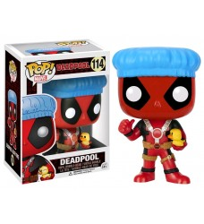 Deadpool - Shower Cap with Ducky Pop! Vinyl
