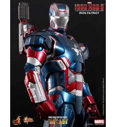 "Iron Man 3 - Iron Patriot 12"" Diecast Figure"