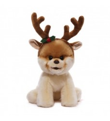 Boo with Reindeer Antlers (23 cm)
