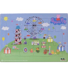 Peppa Pig - Frame Tray Fair