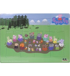 Peppa Pig - Frame Tray Mud Puddle
