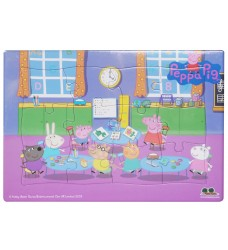 Peppa Pig - Frame Tray School