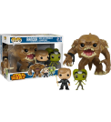 "Star Wars - Rancor 6"" w/ Luke Pop! 3-pack Vinyl"